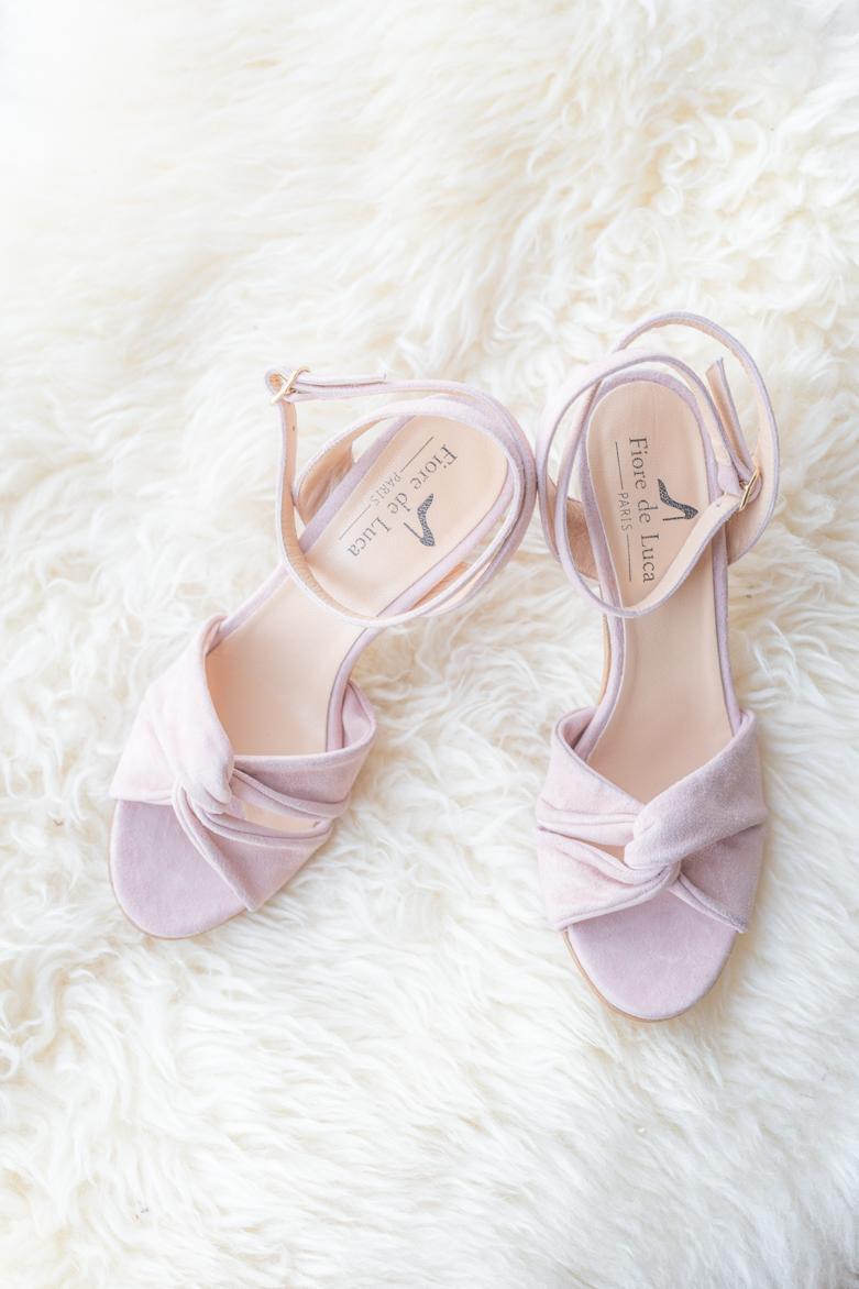 Chaussures de mariée Fiore de Luca