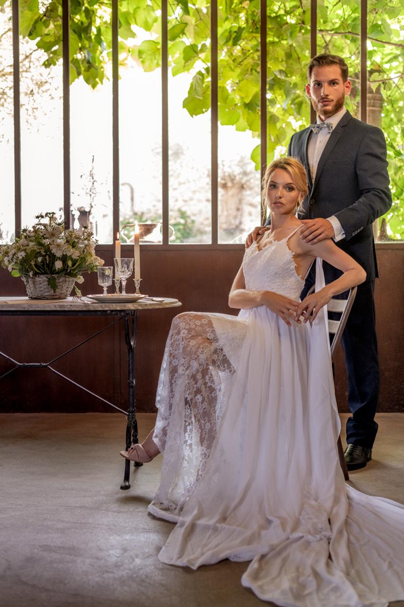 Vaisselle Vintage mariage